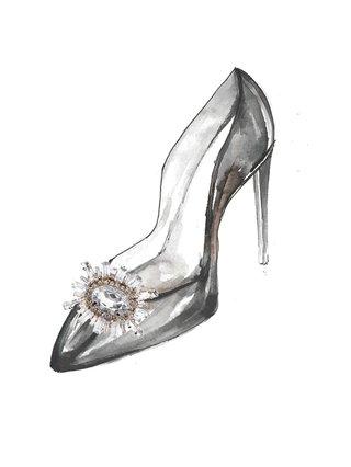 Kari C. Starburst Shoe Bijoux clip