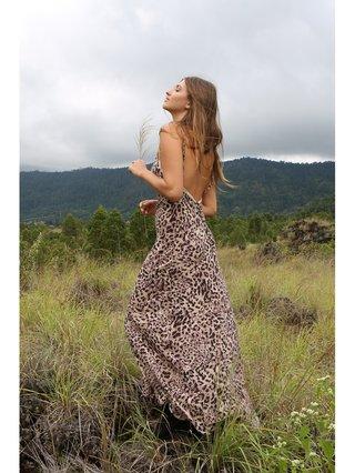 Tulle & Batiste Hunter Love Dress Chestnut