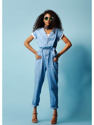 COCONAUTICAL Judah - Denim Jumpsuit
