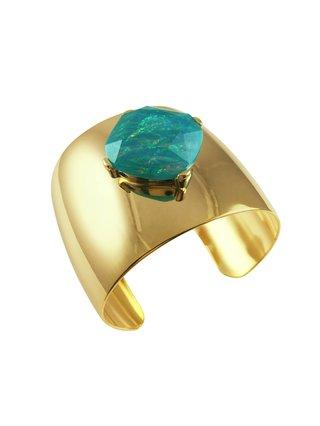 MizDragonfly Coachella Cuff Bracelet - Turquoise