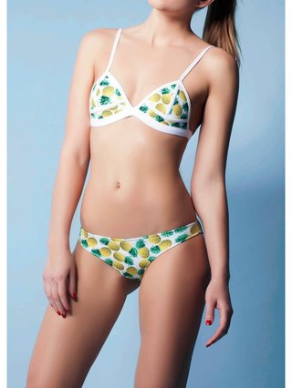 COCONAUTICAL Gaza - Pineapple Pyramid Neoprene Bikini