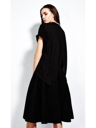 Devlyn van Loon Midi Tuck Skirt