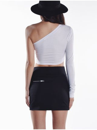 Cara Cheung Alexa Crop Top White