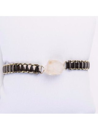 Monoxide Style What Time Is It Mr. Wolf Bracelet - Citrine