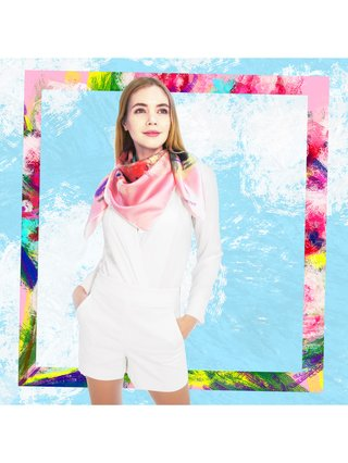 CHRITIFF Miss You Scarf 120cm