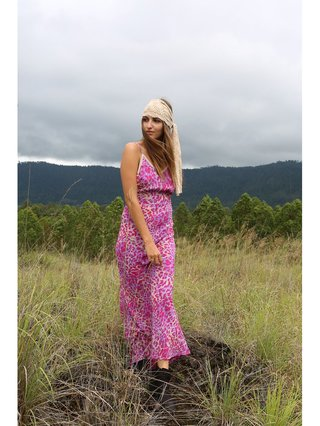 Tulle & Batiste Hunter Love Dress Magenta