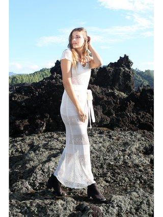Tulle & Batiste Hunter Lux Knitting Dress Oyster