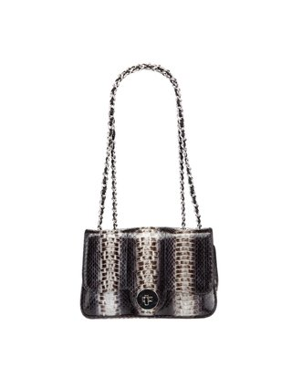 Kari C.  Chloe snakeskin chain bag