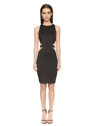 Aloura London Alexis Dress - Black
