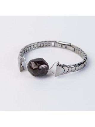 Monoxide Style What Time Is It Mr. Wolf Bracelet - Garnet