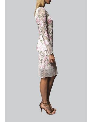 Narces Blossom Applique Dress