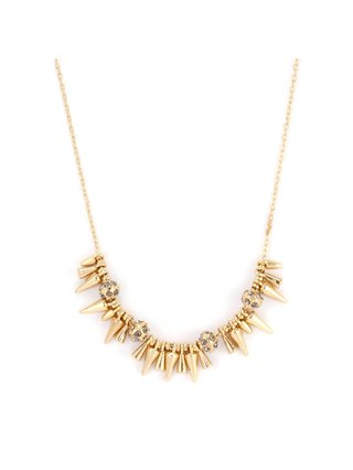 Rivet Mini Spikey Necklace