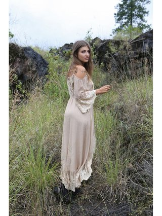 Tulle & Batiste Fairy Love Maxi Dress Oyster