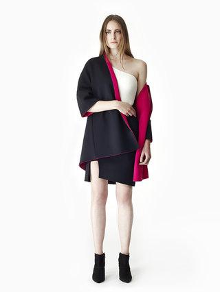 Sarah Bond Lollipop Jolly Reversible Coat Black