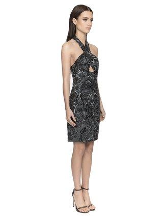 Aloura London Primrose Dress - Navy
