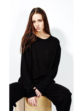 Devlyn van Loon Slim Knit Long Sleeve - Black