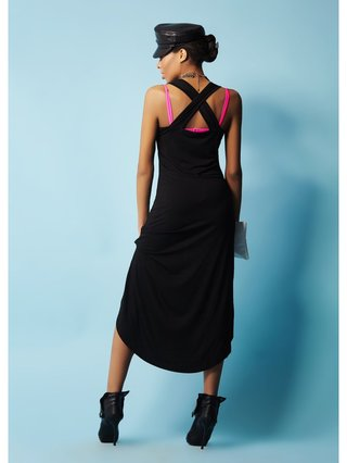COCONAUTICAL Sabina - Black Love Dress