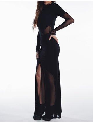 Cara Cheung Block Maxi Skirt Mesh