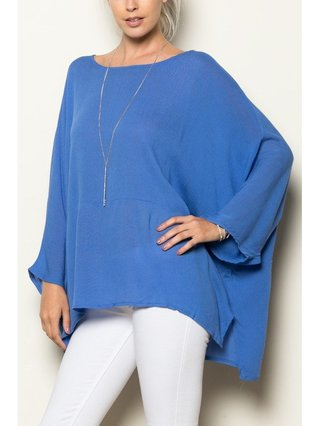 Arcade Attire Oversized Tunic Top