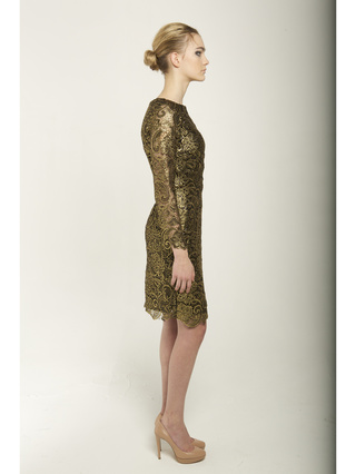 Narces Gold Dress