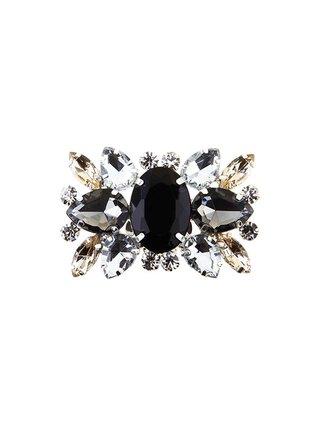 Kari C. Black Aster Shoe Bijoux clip