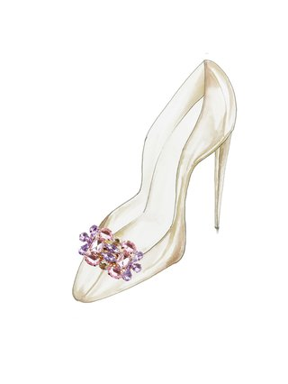 Kari C. Calista Shoe Bijoux clip