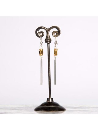 Monoxide Style Aurum Bar Earrings