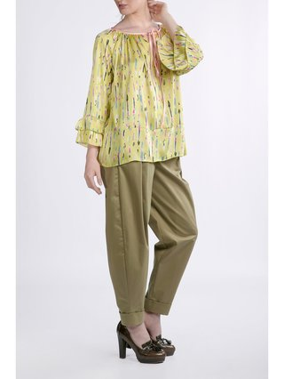 HB by Hanna Baranava Green Pants
