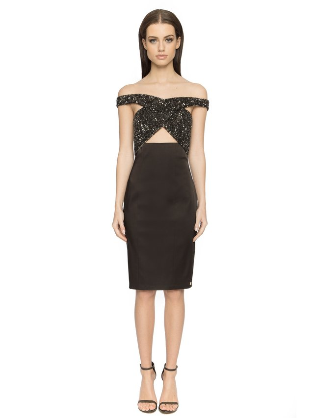 Aloura London Phoenix Dress - Black