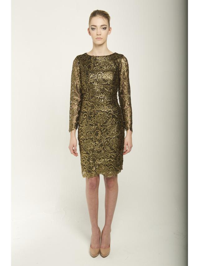 Narces Gold Dress
