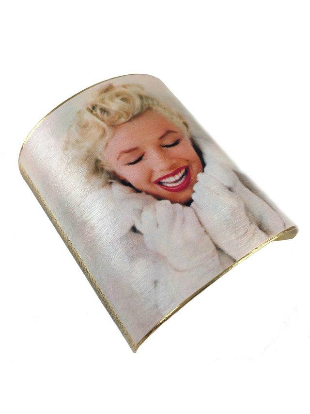 MizDragonfly Marilyn Monroe Cuff Winter