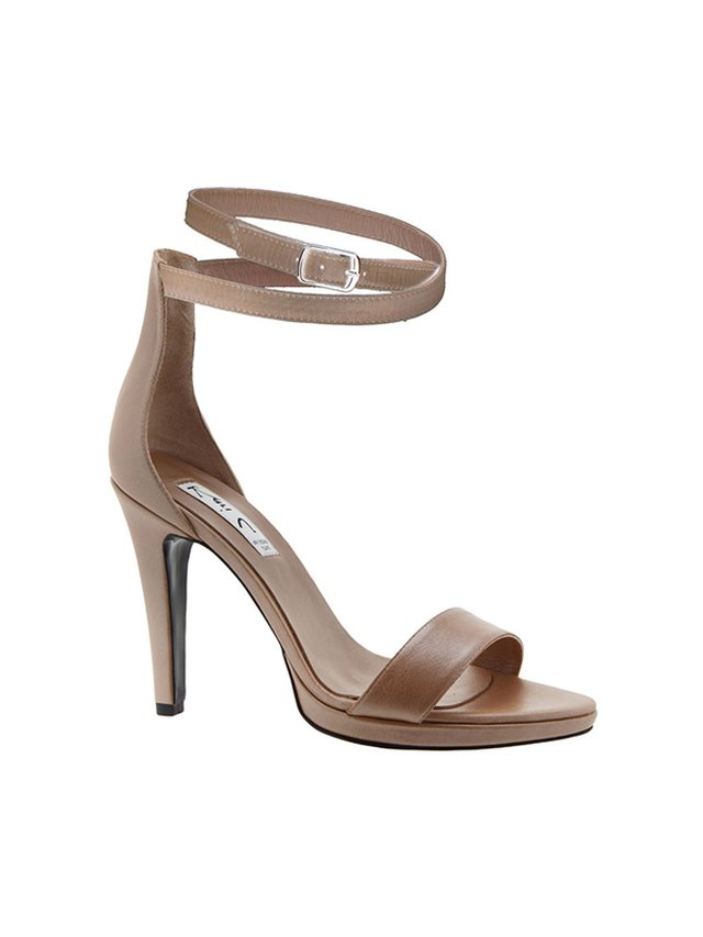Kari C. Sherry II Dark Nude Sandals