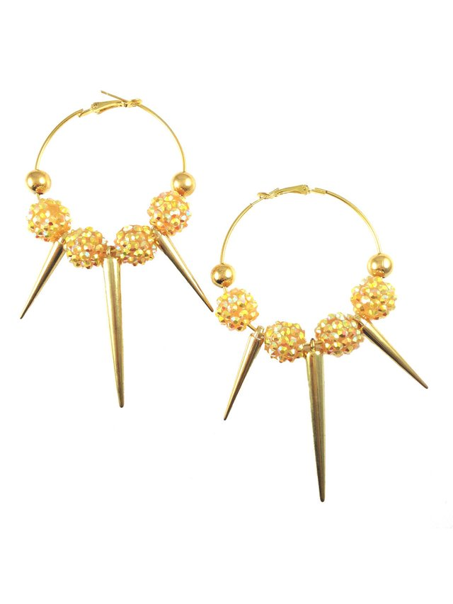 MizDragonfly Farrah Spikes Yellow & Gold