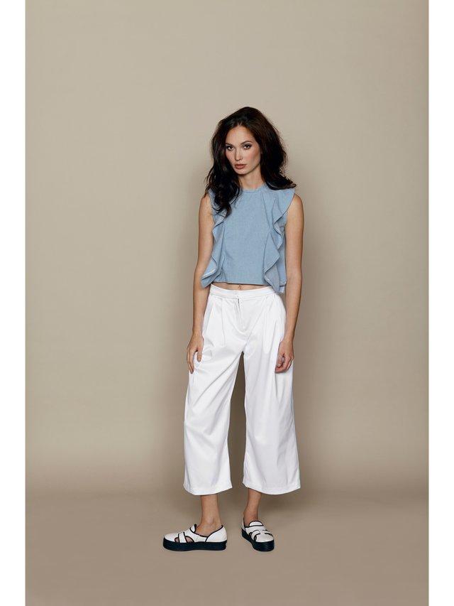 Hilary MacMillan White Culottes