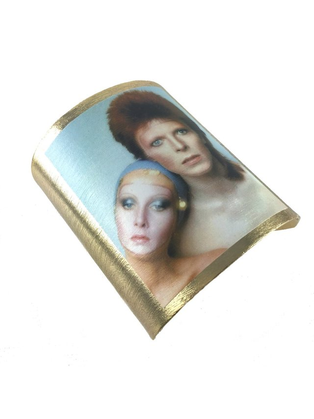 MizDragonfly David Bowie Cuff Pin Up