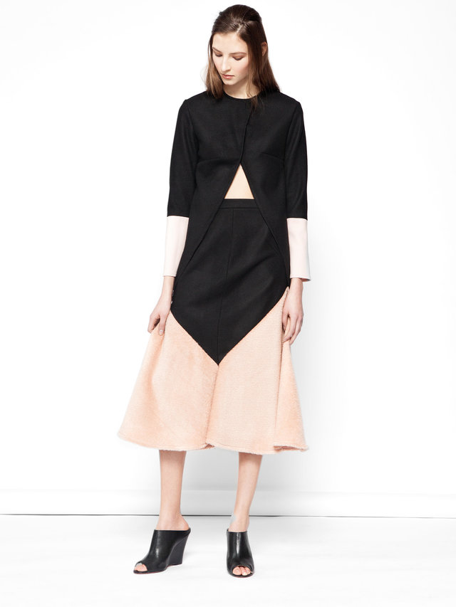 Hilary MacMillan Two Tone Skirt