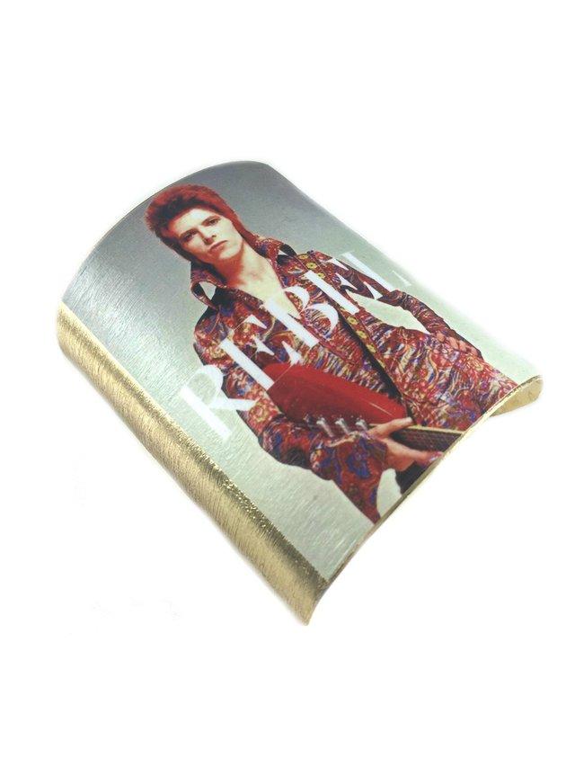 MizDragonfly David Bowie Cuff Rebel Rebel