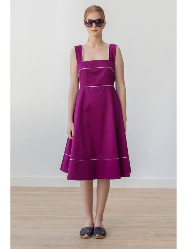 HB by Hanna Baranava Purple Medium Drees