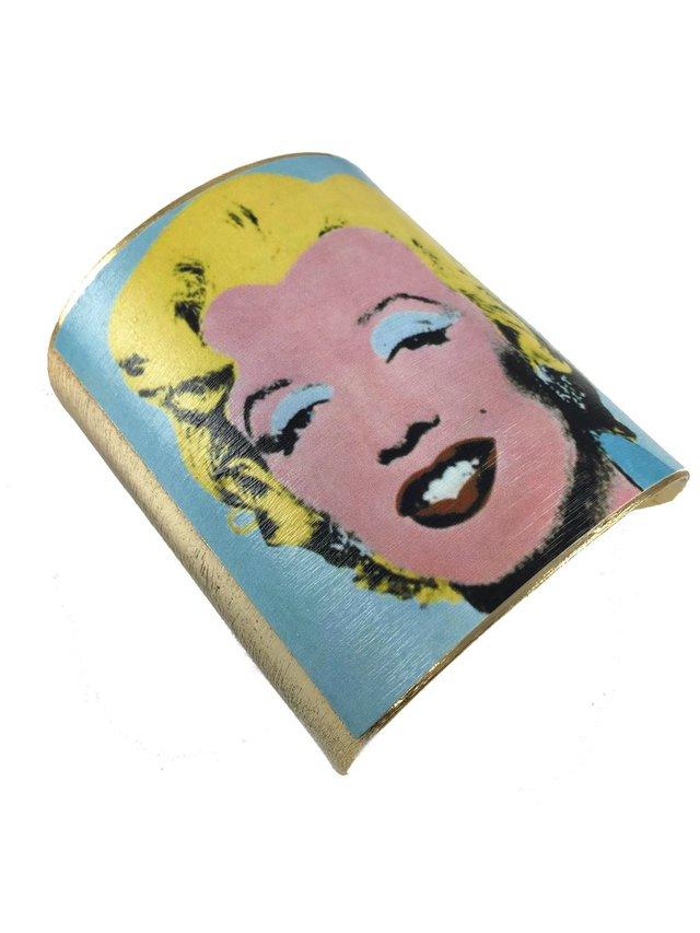 MizDragonfly Marilyn Monroe Cuff Wharhol