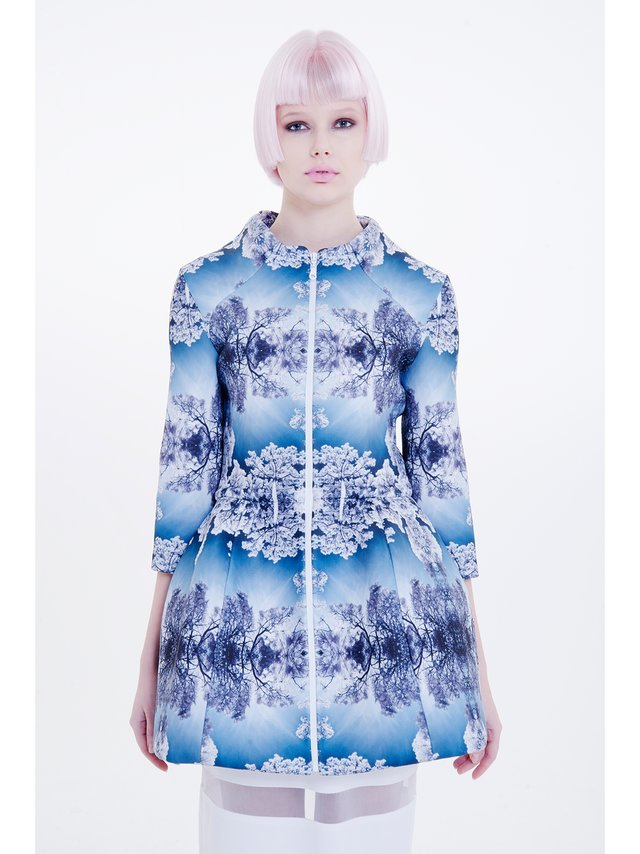 Ece Ozalp No:6 – Perception Printed Jacket Dress