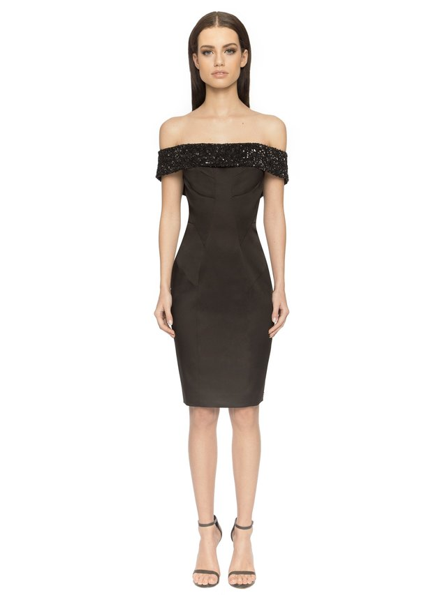 Aloura London Victoria Dress - Black
