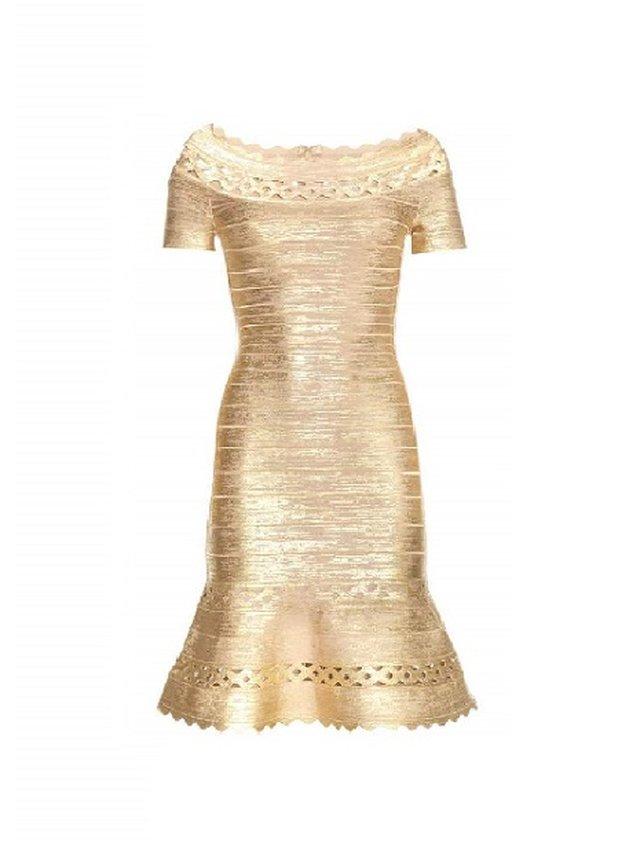Kari C.  Bardot dress