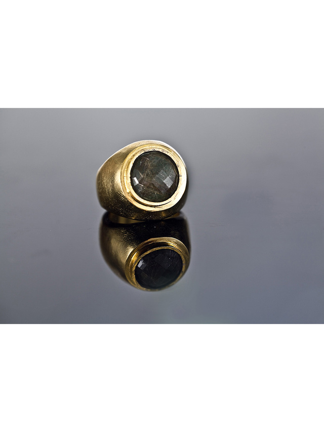 Kemi Designs Stone Cold Brown Ring
