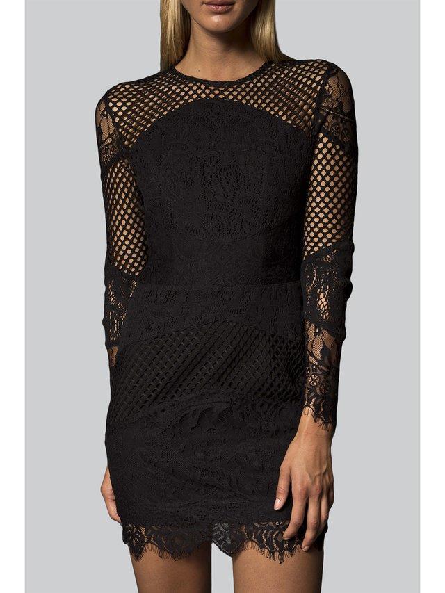 Narces Sadie Dress Black