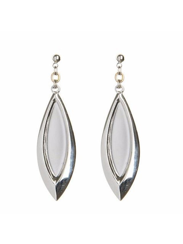 Monoxide Style Argent Earrings