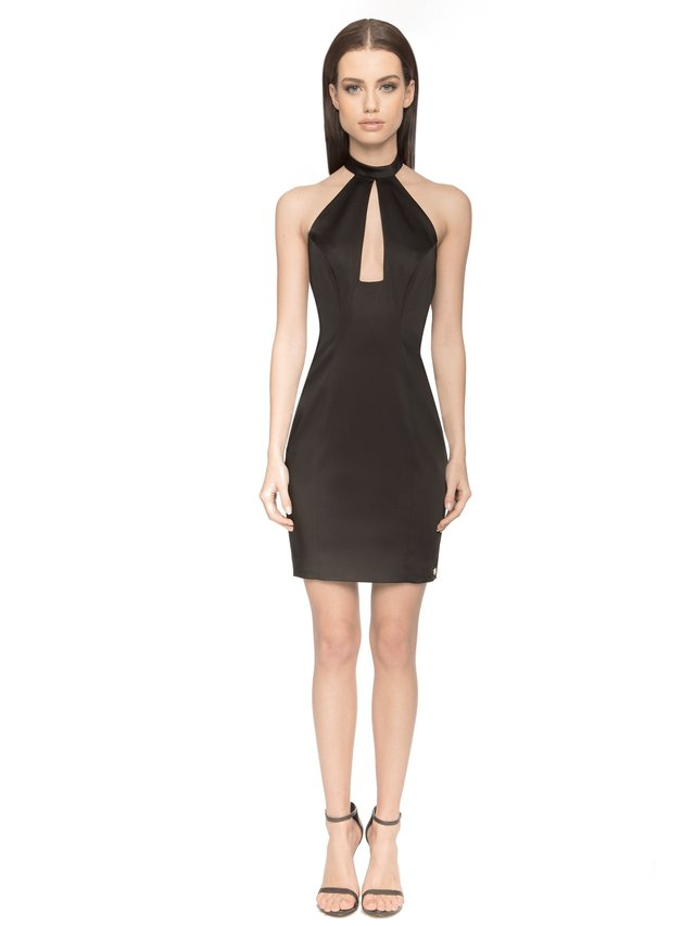 Aloura London Saffron Dress - Black