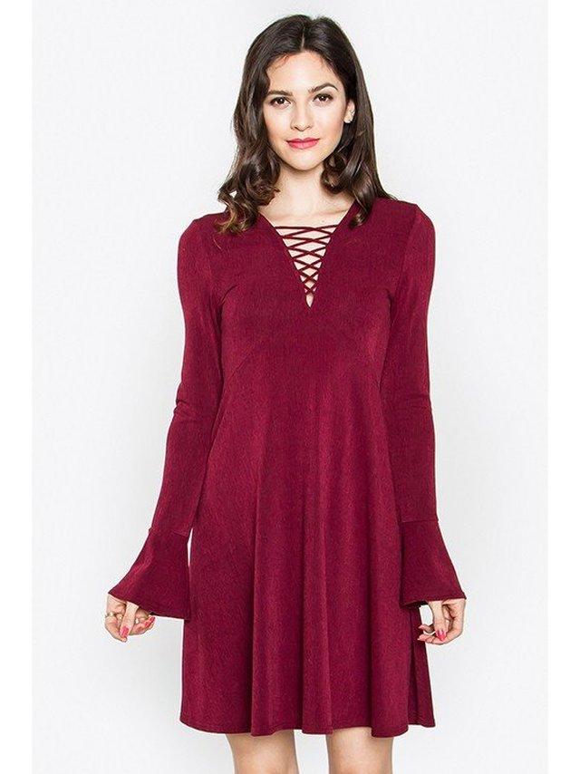 Arcade Attire Kara Lace-Up Dress