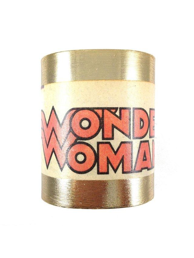 MizDragonfly Wonder Woman Cuff Crest