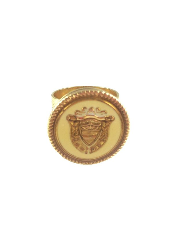 MizDragonfly Victory Crest Ring
