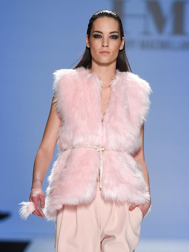Hilary MacMillan Faux Fur Vest